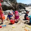 Activity sand castles club kids