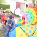 Clown hunt in the campsite