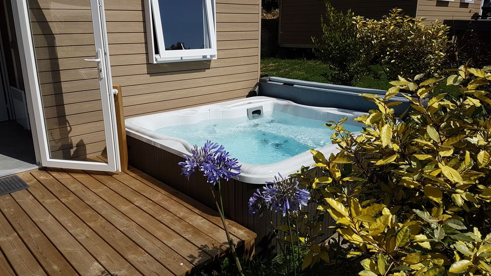 Jacuzzi VIP 6 places 3 chambres